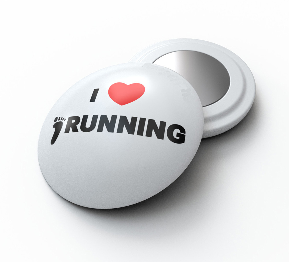 Ready to ship Running Race Number Marathon Magnet