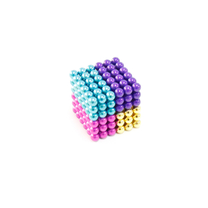 Multicolorful D5mm 216 Pcs Magnetic Ball