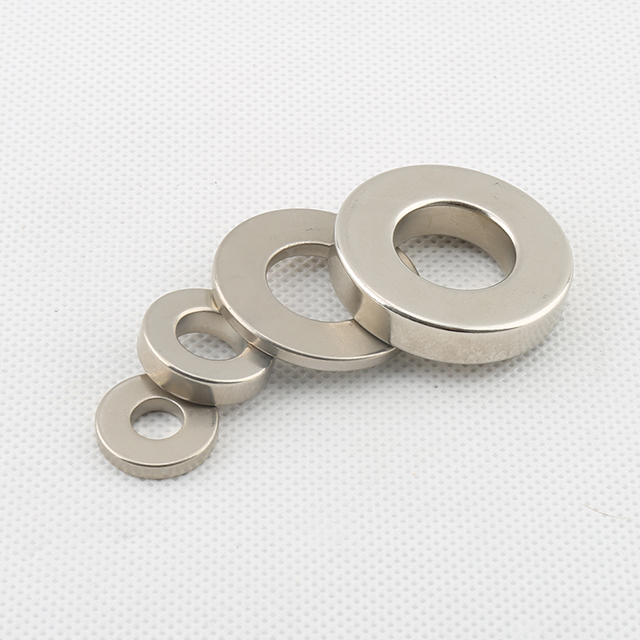 Radially Magnetized Ring Magnet N42