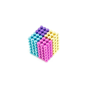 Multicolorful D5mm 216 Pcs Neocube Ball