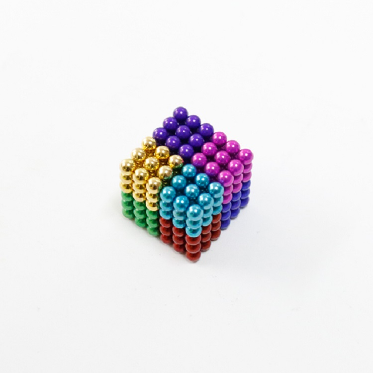 D5mm 216 Pcs Multicolorful Magnetic Ball