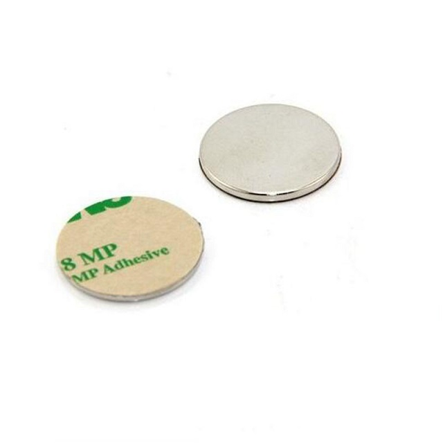 Disc Magnet with 3M adhesive