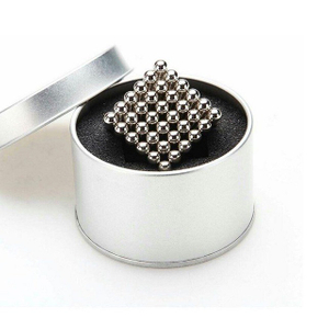 216 Pcs D5mm Ni Coated Magnetic Sphere