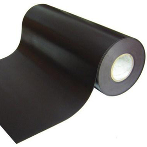 Flexible rubber coated magnet strip in stock