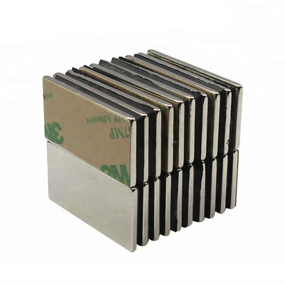 Strong 3M adhesive pasted Block Magnet